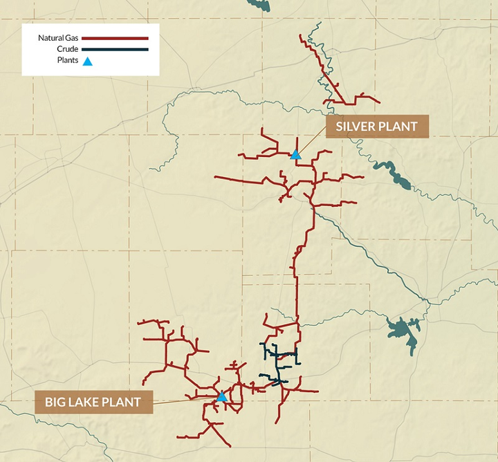 Cogent Midstream lets contract for Midland basin gas plant