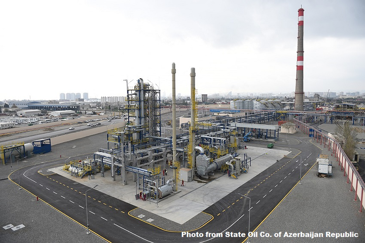 SOCAR commissions unit, wraps Phase 1 of Baku refinery