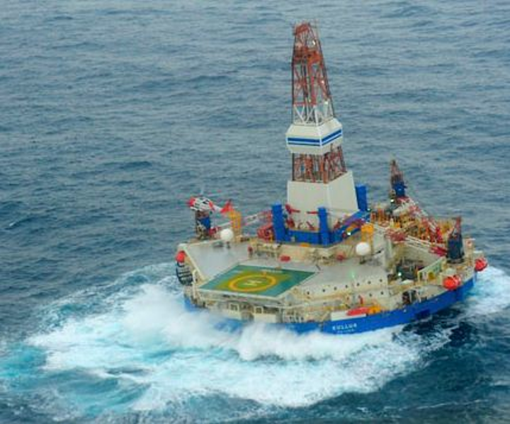 Kulluk conical drilling unit