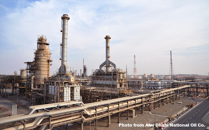 ADNOC Refining lets contract for grassroots refinery at