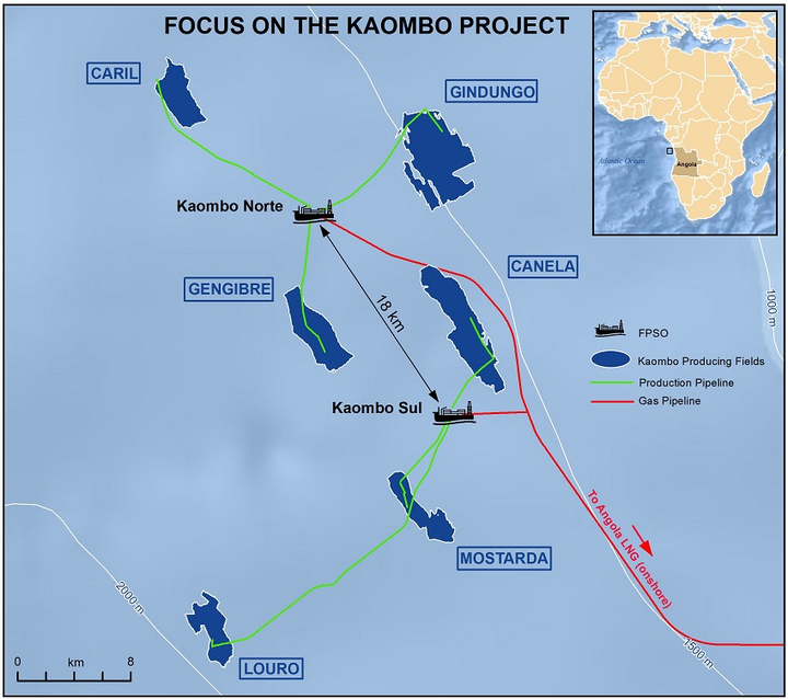Total begins full-field production on Kaombo with second FPSO | Oil