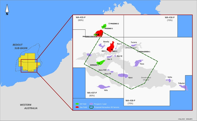 Australia Map Wa.Santos Acquiring 3d Survey Off Western Australia Oil Gas Journal