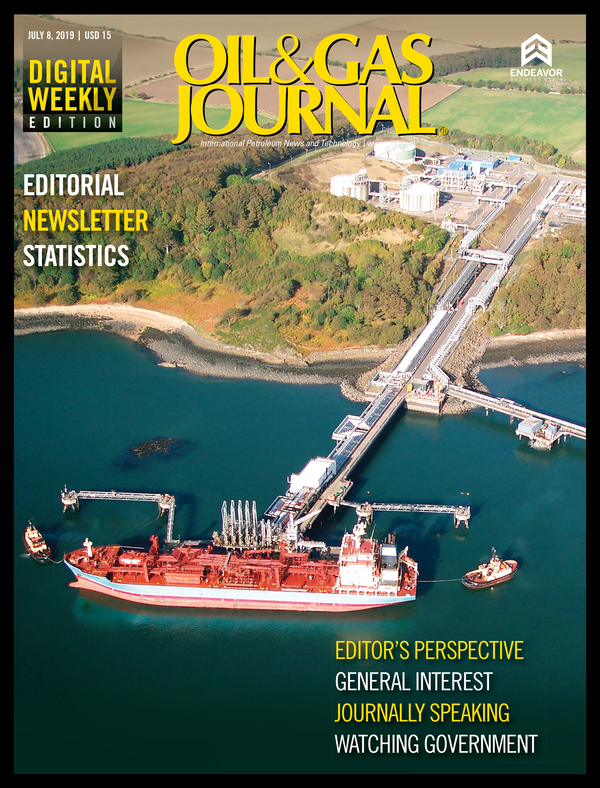 Oil & Gas Journal Volume 117, Issue 7a