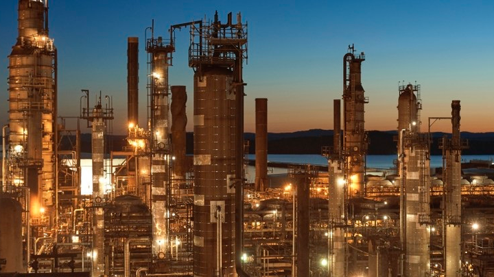 NARL Refining refinery at Come-by-Chance, Newf.