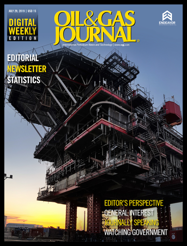 Oil & Gas Journal Volume 117, Issue 7d