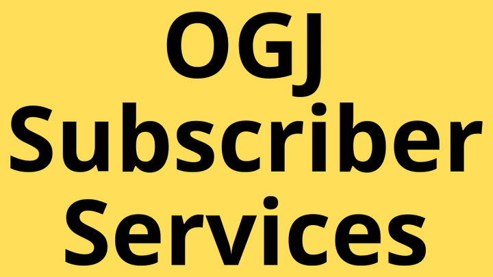 Ogj Subscriber Services