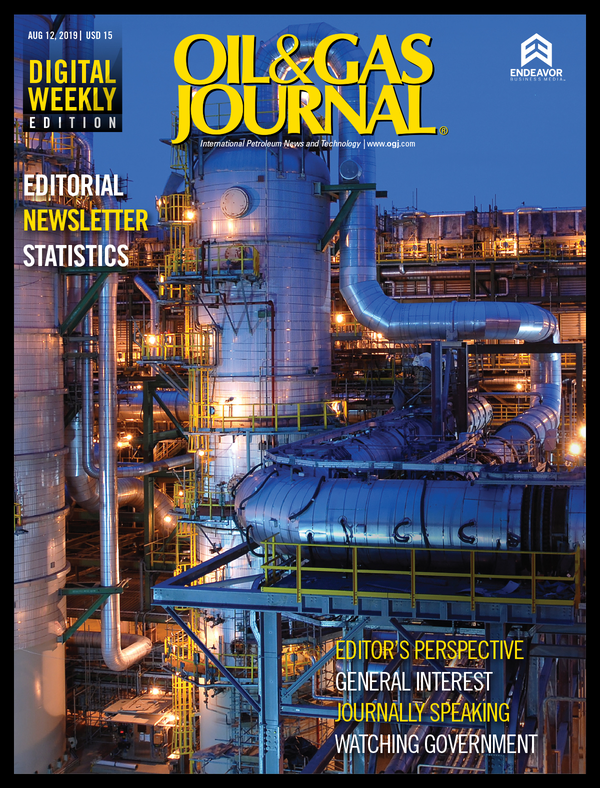 Oil & Gas Journal Volume 117, Issue 8a