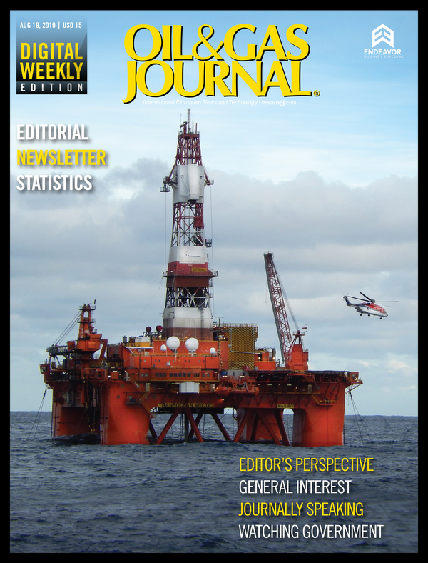 Oil & Gas Journal Volume 117, Issue 8b