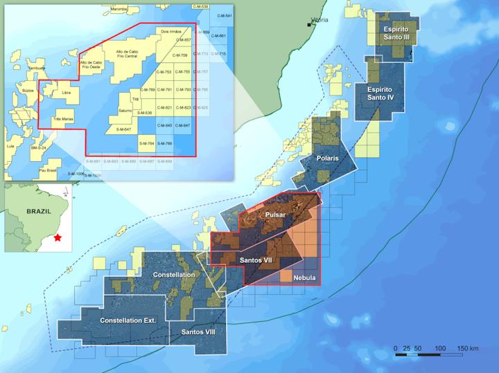 CGG starts 3D broadband deepwater survey offshore Brazil