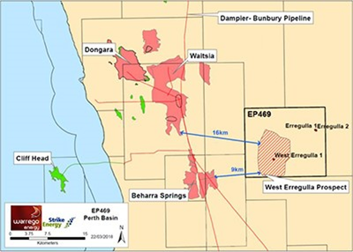Map Of Western Australia 26th Parallel.Strike Energy Led Jv Unveils Gas Fairway With West Erregulla