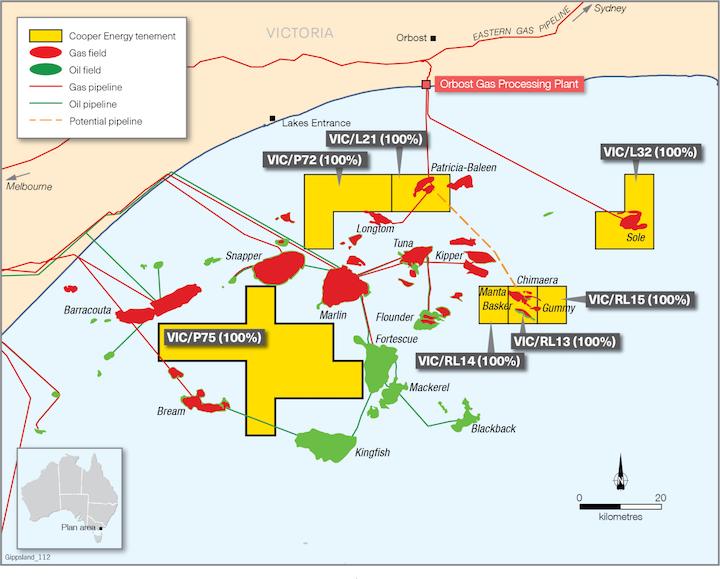 190905 Cooper Bass Strait Map