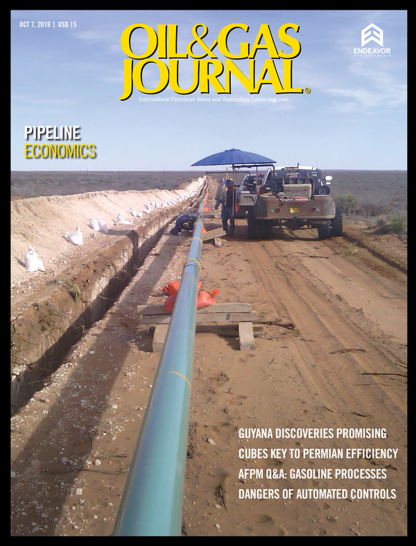 Oil & Gas Journal Volume 117, Issue 10