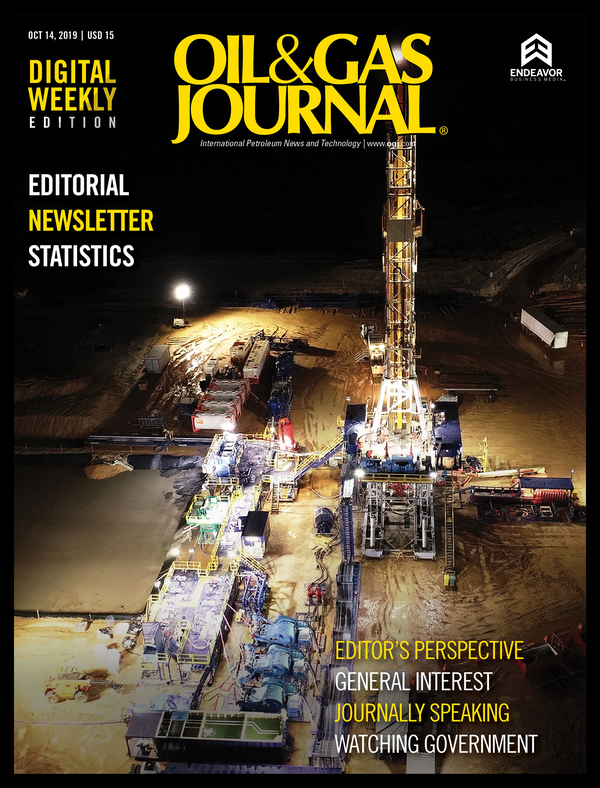 Oil & Gas Journal Volume 117, Issue 10a