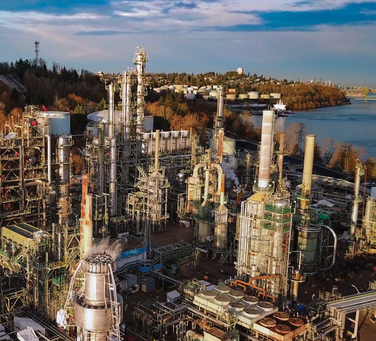Parkland Fuel Wrapping Up Burnaby Refinery Turnaround