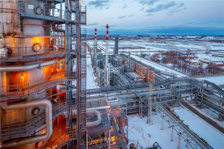 PJSC Lukoil subsidiary LLC Lukoil-Nizhegorodnefteorgsintez's 17-million tonne/year Kstovo refinery in central Russia's Nizhny Novgorod region.